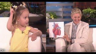 [Vietsub] Brielle: kiến thức sinh học của cô bé 4 tuổi trên Ellen Show khiến bạn e ngại về bản thân