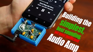 Building the simplest, best sounding, yet most inefficient Audio Amp! || Class A Audio Amp Tutorial