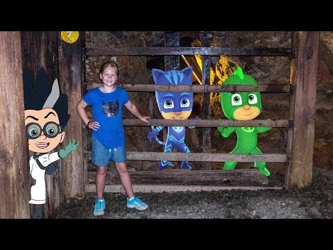 PJ MASKS  Romeo Steals the Golden Pineapple The Assistant Mine Hunt