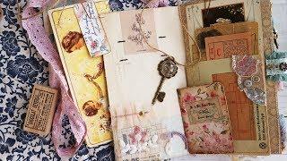Lynn -  A Vintage Floral Junk Journal TN
