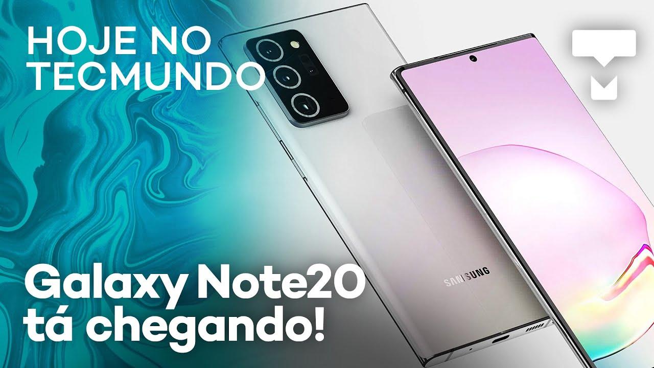 Galaxy M31 por R$ 1.999 e Galaxy Note20 será apresentado em agosto – Hoje no TecMundo – TecMundo