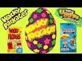 Wacky Packages Wednesday! Huge Play Doh Surprise Egg! Kidrobot Labbit! Uggly's Marvel Mashem!