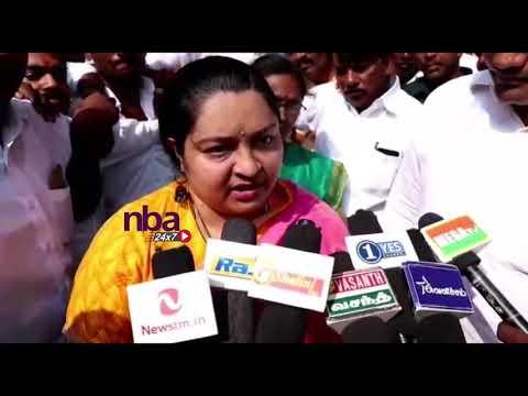 அதிமுகவில்  இணையும் ஜெ தீபா   Jayalalitha nephew J Deepa to Join ADMK| J Deepa Latest | nba 24x7
