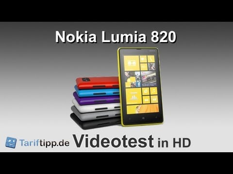 Nokia Lumia 820 | Test in HD (deutsch)