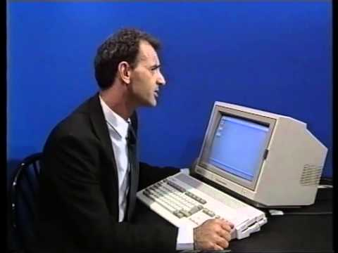 Amiga A1200 Introduction Video - Wall Street Video - Bruce Smith Books
