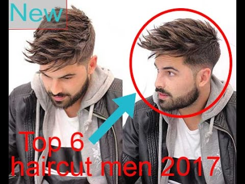 Top 6 Haircut Mens 2017 Best 6 Hairstyle 2017 Haircut Tutorial