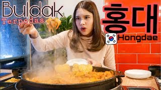 Download Video KOREA VLOG #1 - BULDAK TERPEDAS DI HONGDAE 🔥 MP3 3GP MP4