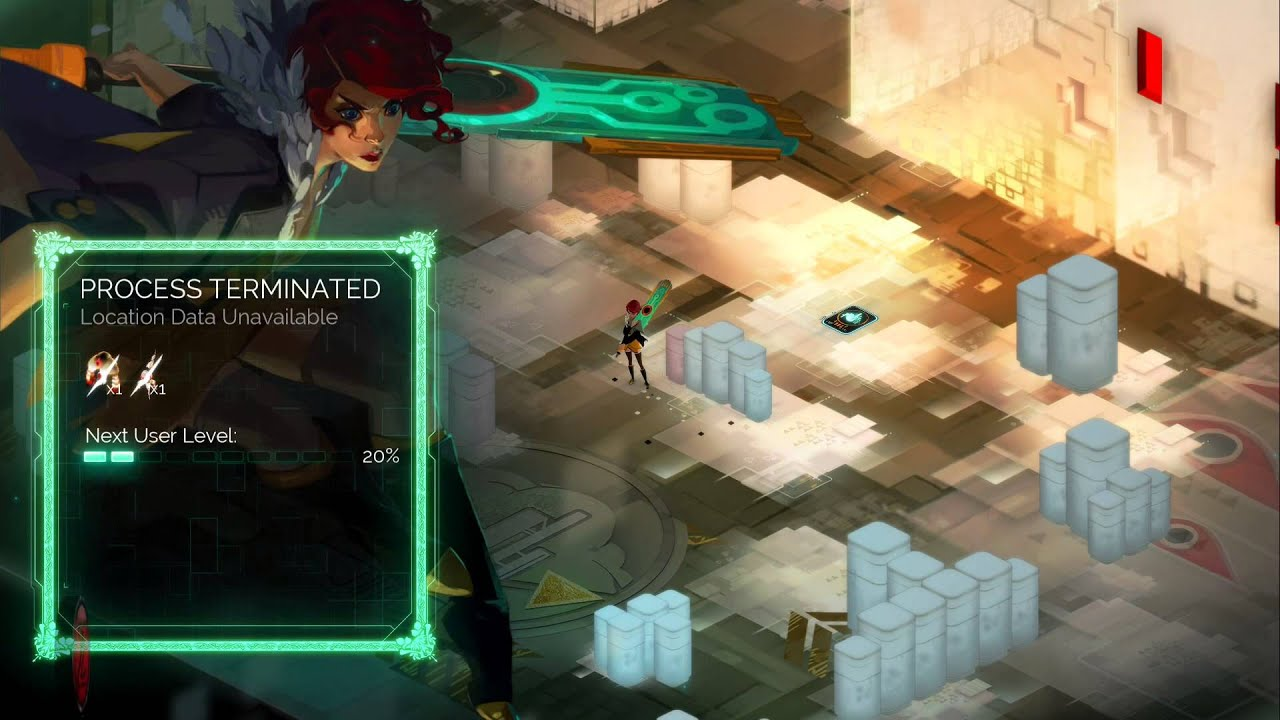 「transistor gameplay」的圖片搜尋結果
