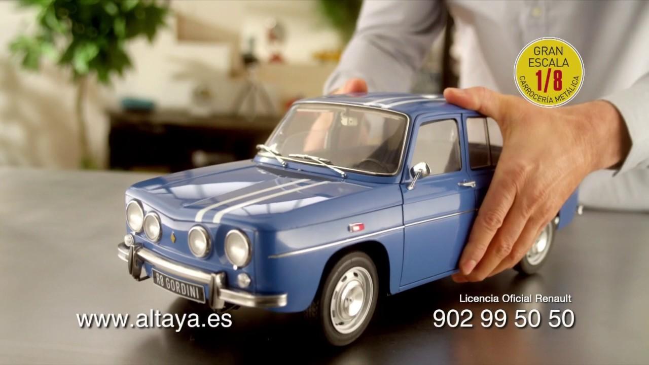 anuncio renault 8 gordini de altaya publicidad comercial