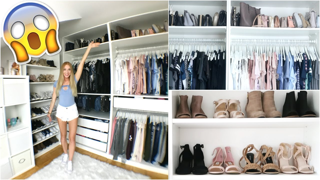 xxxl ankleidezimmer ihr seht alles roomtour laurencocoxo youtube. Black Bedroom Furniture Sets. Home Design Ideas