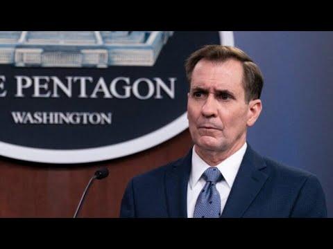LIVE: Pentagon Press Secretary John Kirby Holds Briefing