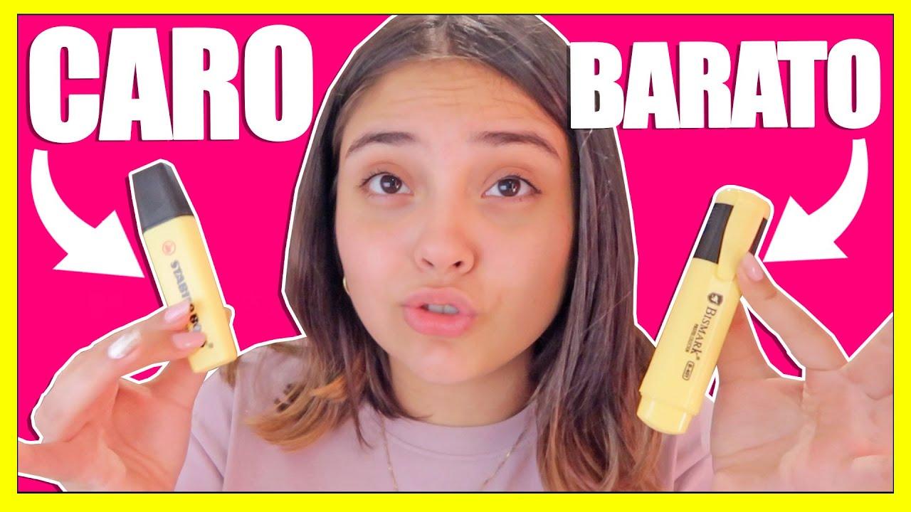 Útiles Escolares BARATO vs CARO | lo BARATO sale CARO | Karla Art Material Escolar