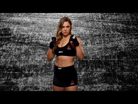 WWE: Ronda Rousey Theme Song [Bad Reputation] + Arena Effects