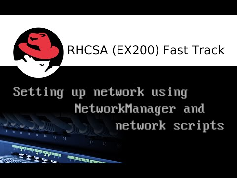 Setting up network using NetworkManager and network scripts in Redhat 7