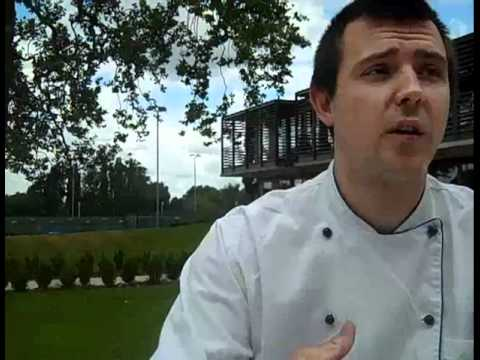 Alex Boyd, Head Chef at the National Tennis Centre