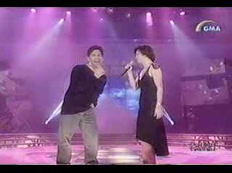 Regine sings Forever with Martin Nievera
