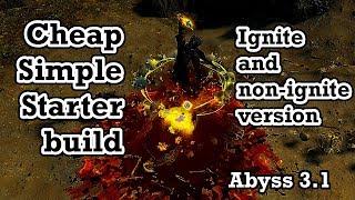 Detonate Dead build. Non-crit. Elder fight included - Path of Exile (3.1 Abyss)