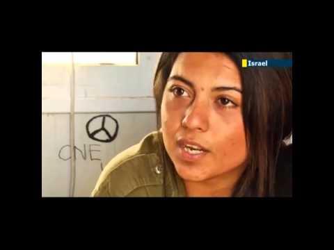 Israeli-Arab female combat soldier (Israel Defense Forces ar