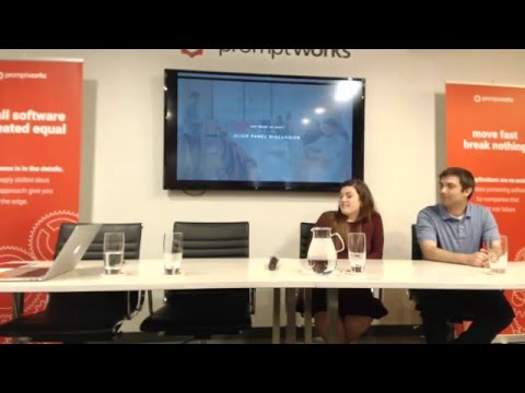 UI/UX Panel Discussion - April 2016 Software as Craft Philadelphia