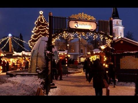 Christmas Market of Tampere in Finland - Tampere Joulutori - Tampereen joulumarkkinat - Suomi joulu