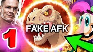 Agar.io // FAKE AFK TRICK MOMENT #1 // HALF EAT ME // JOHN CENA (AGARIO TROLLING)
