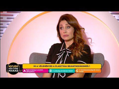 Horváth Éva Megbánta A Mellplasztikát - Life TV