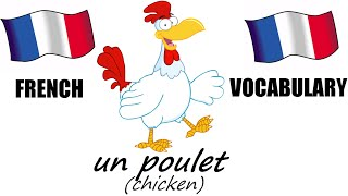 French Lesson 5 - FARM ANIMALS Vocabulary - Learn French - The French Minute