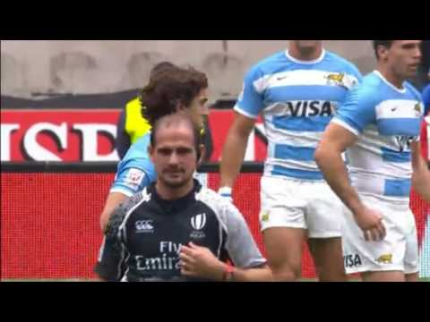Argentina Vs Brazil Match Pool D World Rugby HSBC Sevens Series London 2016