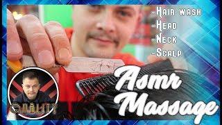 💈ASMR MASSAGE No Talking by Anil Cakmak | Haircut, Skincare, Head Massage, Scalp Massage