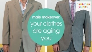 3 Ways Your Clothes are Aging You - Mens Makeover Must See Thumbnail