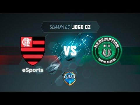 CBLoL 2019: Flamengo x Redemption (Jogo 2)   Fase de Pontos - 1ª Etapa