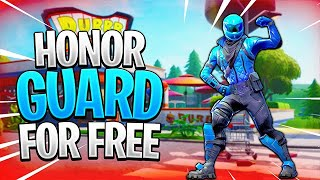 HONOR GUARD Skin In FORTNITE!
