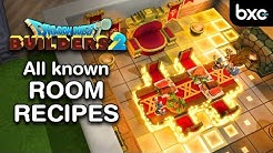 DQB2 - Every known Room Recipe