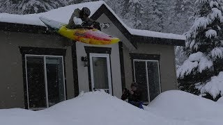 I kayaked off the roof!