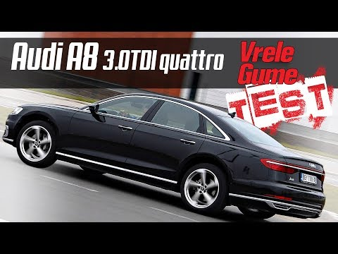 Audi A8 50 TDI -  Road Test by Miodrag Piroški