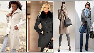 видео Классическое пальто всегда в моде!