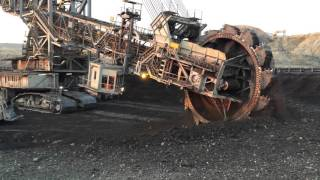 Huge Mining Excavator In Action part2