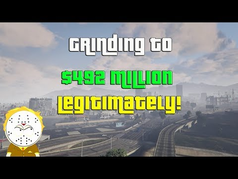 GTA Online Grinding To $492 Million Legitimately And Helping Subs