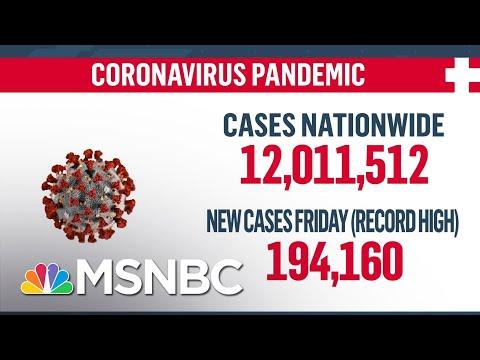 U.S. Surpasses 12 Million Coronavirus Cases | MSNBC