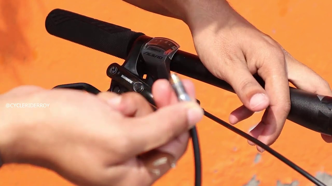 How To Swap/Change Hydraulic Brake Hose Cable at Home | MTB Disc Brake Maintenance | Cycle Rider Roy