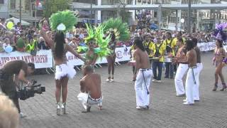 Brazilian band and dancers at Vredesfeesten, Sint-Niklaas (2010)