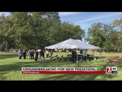 Groundbreaking for new Franklin School in Spartanburg