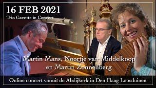 Online concert door Martin Mans, Martin Zonnenberg en Noortje van Middelkoop