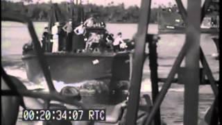 US Navy PT Boats in Milne Bay, New Georgia Islands 1944