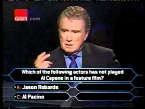 Stan Flouride on Who Wants to be a Millionaire day two ...