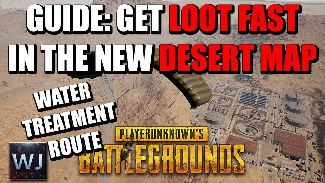 Playerunknown S Battlegrounds Maps Loot Maps Pictures: GUIDE: How To GET LOOT FAST In The New DESERT MAP Of PUBG