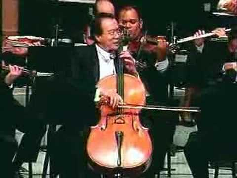 Dvorak Cello Concerto : Yo-Yo Ma (1/4)