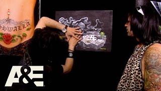 Criss Angel Mindfreak: Painting Trick | A&E