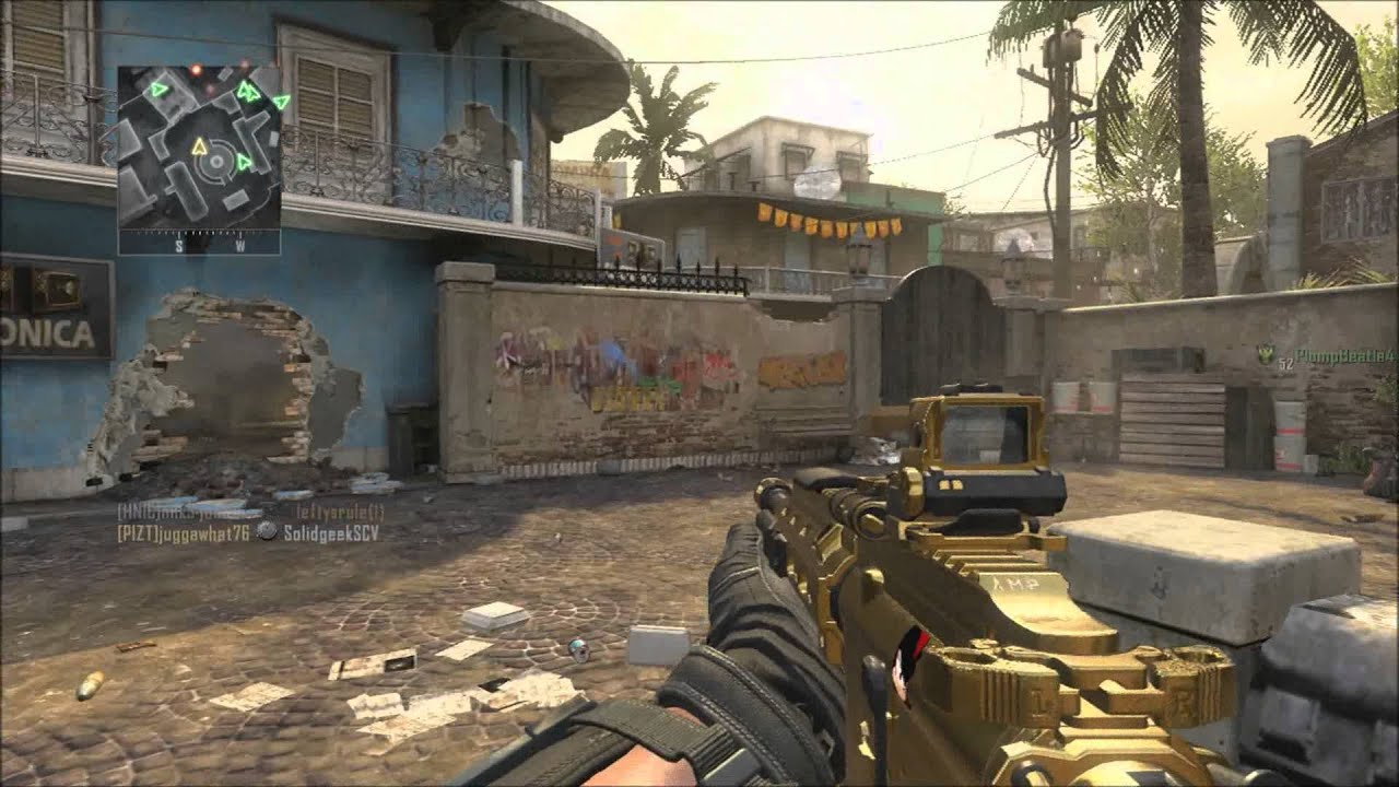 Black Ops 2 Gold M27 Assault Rifle 4 Target Finder
