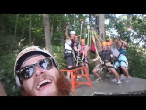 Ziplining the Gorge! Saluda, NC